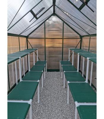 Gro Gardener PVC Shelving (9m)